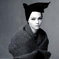 """""""Shape Shift"""" Sasha Pivovarova by Steven Meisel for Vogue Italia October 2014"""