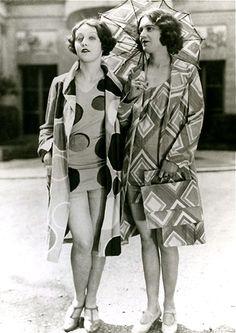Modèles de 1927 pour Sonia Delauney