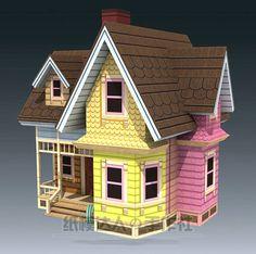 4-в-1-комплект-до-дом-карл-Frederickson-рассел-кевин-3D-модели-персонажа-из-мультфильма-бумажная.jpg (510×506)