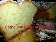 Questa sera vi presento la ricetta di Maria, un'amica di famiglia :)! Il #Ciambellone_al_limone davvero buonissimo!!! Pronte??? 3 uova 1200 Calories, Biscotti, Cornbread, Cheesecake, Food And Drink, Vegan, Fagioli, 3, Ethnic Recipes
