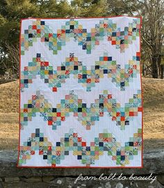 From Bolt to Beauty: Good Day Sunshine Quilt