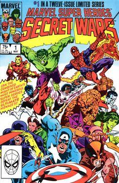 Marvel Super-Heroes Secret Wars #1 (1984 series) - cover by Michael Zeck