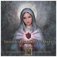 Feast of the Immaculate Heart of Mary, make our heart like thine.