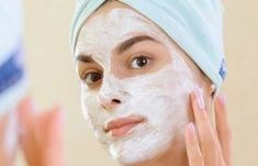 face mask for dry skin - butter face mask Acne Treatment At Home, Cystic Acne Treatment, Homemade Acne Treatment, Facial Skin Care, Facial Masks, Acne Out, Anti Aging, Yogurt Face Mask, Homemade Face Masks