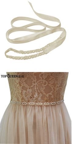 TOPQUEEN Free Shipping S246-I Iivory Pearl Beading Belts Fashion Pearl Wedding bridal sash wedding belts for evening party