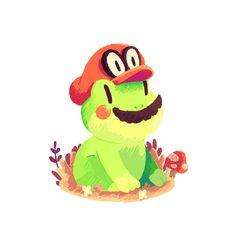 Eto, Frog Mario. [Instagram] | [Twitter]