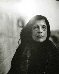 #dressai #icon | Susan Sontag by Annie Liebovitz.. www.fashion.net