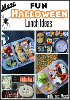 Kids Meals Fun Halloween Lunchbox Ideas for Kids __ Family Fresh Meals - Halloween is almost here! I hope you enjoyed the 2 weeks of my terrifying and fun Halloween lunchbox ideas for kids.Have you tried any of these lunch ideas? Halloween Snacks, Easy Halloween, Kids Lunch For School, School Lunches, Kid Lunches, Boite A Lunch, Little Lunch, Family Fresh Meals, Whats For Lunch