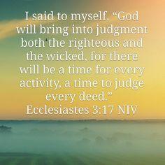 Scriptures, Bible Verses, Ecclesiastes, Christian Church, Bible Quotes, Prayer, Wicked, Inspirational Quotes, Faith