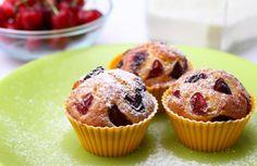 Cseresznyés muffin - Napéjegyenlőségi Buli :)