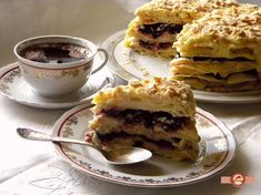 Tort Napoleon Flan, Something Sweet, Napoleon, French Toast, Yummy Food, Delicious Recipes, Pie, Sweets, Cooking