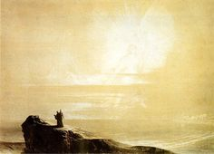 John Martin, The Angel with the Book, 1837