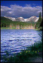 Windy morning, Sprague Lake. Rocky Mountain National Park West Coast Trail, Great Places, Beautiful Places, Places To Visit, Rocky Mountains, Rio, Grandeur Nature, Colorado Hiking, Colorado Usa