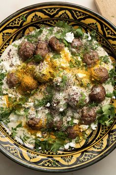 Cumin Lamb Meatballs With Tahini Yogurt Dipping Sauce Recipe - NYT Cooking Herb Recipes, Dinner Recipes, Cooking Recipes, Lamb Meatballs, Turkish Meatballs, Mezze, Turkish Recipes, Romanian Recipes, Gourmet