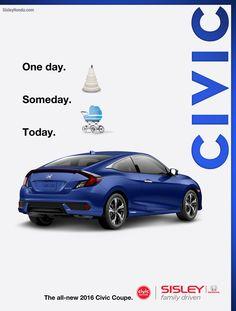 All New 2016 Honda Civic Coupe At Sisley Honda