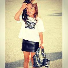 Celebrity Kids at Fashion Week