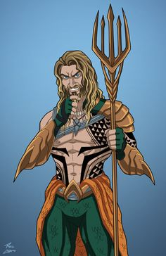 Aquaman (Earth-27) commission by phil-cho on DeviantArt