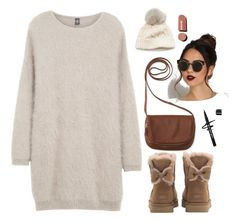"""""""Untitled #165"""" by ihottestpm ❤ liked on Polyvore featuring Eleventy, UGG, Aéropostale, SIJJL and Chanel"""