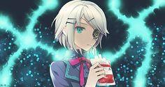 Anime Girl Smudge by alyn2rikla.deviantart.com on @deviantART