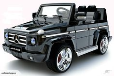 Licensed Black Mercedes AMG Luxury Kids Jeep - : Kids Electric Cars, Little Cars for Little People Mercedes G55 Amg, Toy Cars For Kids, Little Cars For Kids, Power Wheels, Kids Ride On, Ride On Toys, Sports Toys, Cool Bicycles, Rubber Tires