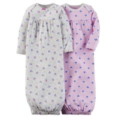 Carter's Baby Girl 2-pack Sleeper Gowns ** To view further, visit now : Baby clothes