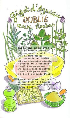 My Recipes, Cooking Recipes, Favorite Recipes, Good Food, Yummy Food, French Food, Food Illustrations, Recipe Collection, Main Meals
