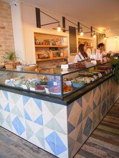 Lunch at The Mae Deli by Deliciously Ella, London