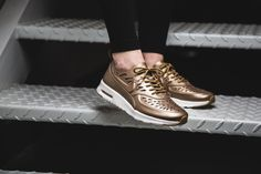 Nike WMNS Thea Joli Metallic Golden-Tan  http://goo.gl/dxayTB