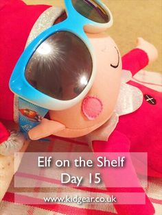 Elf on the Shelf – Day 11, 12, 13, 14, 15 and 16