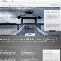 DeepFocus WordPress Theme by ElegantThemes | Best WordPress Themes 2013