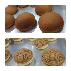 Combine flour together with instant yeast, eggs, milk powder and pu . Peanut Butter Recipes, Donut Recipes, Coffee Recipes, Baking Recipes, Dessert Recipes, Roti Bun Recipe, Soft Bread Recipe, Roti Bread, Bread Bun
