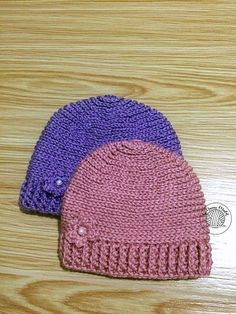 9c09531cf62 This beanie is very cozy because it s made of Half Double Crochets just in  time for. Crochet Hat Pattern KidsCrochet ...