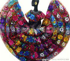 Vestido de Chiapas para damas