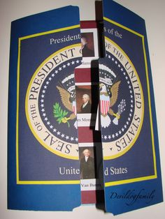 United States Presidents lap book