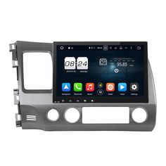 1024*600 10.1 Inches Android 6.0 RAM 2G ROM 32G Octa Core GPS Navi Car Player Multimedia Head Unit For Honda CIVIC 2006-2011 #Affiliate