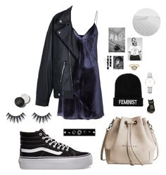 """""""23:28"""" by dre4mland on Polyvore featuring Fleur du Mal, Vans, Boohoo and CLUSE"""