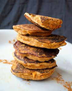 sweet potato pancakes #paleo #glutenfree
