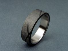 Great, modern ring design.  Would make a great grooms wedding band!!!