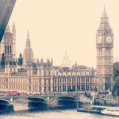 Big ben visto desde el london eye