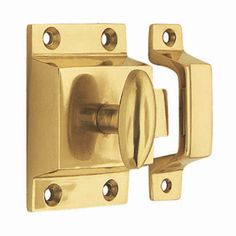 Buy the Nostalgic Warehouse 701042 Polished Brass Direct. Shop for the Nostalgic Warehouse 701042 Polished Brass x Brass Surface Mount Catch and save. Brass Cabinet Hardware, Home Hardware, Victorian Bath, Classic Cabinets, Master Bath Remodel, Master Bathroom, Knobs And Pulls, Polished Brass, Solid Brass