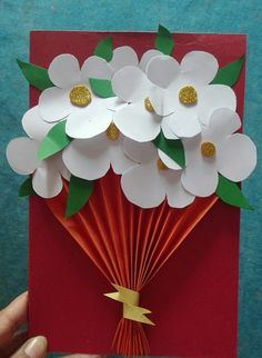 Holiday Crafts For Kids Spring Crafts For Kids Christmas Crafts Art For Kids Butterfly Crafts Flower Crafts Classroom Art Projects Art Folder Newspaper Crafts Diy Mother's Day Crafts, Mother's Day Diy, Diy Crafts For Kids, Holiday Crafts, Art For Kids, Paper Crafts, Mothers Day Crafts For Kids, Spring Crafts For Kids, Flower Cards