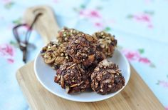 (via Granola-cookie breakfast clusters (gf) — Including Cake)   #healthy #vegetarian #vegan #recipes Find more healthy recipes @ http://standouthealth.com