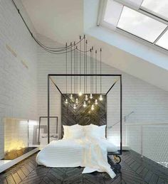 Image result for tall ceiling bedroom ideas