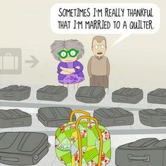 Ha! From the Pickle Dish blog, home of Kansas City Star Quilts.