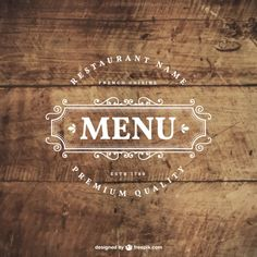 Restaurant Logos Collection In Retro Style