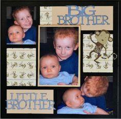 Just gotta love it!  EZLaserDesigns : Big Brother Little Brother Sample