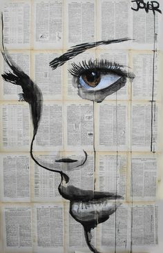 Saatchi Online Artist: Loui Jover; Pen and Ink, 2013, Drawing athene