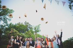 mariage en ardèche - ela and the poppies (2) - Photo de groupe.