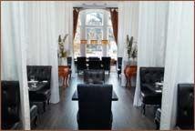 Chic dining at 700 Drayton Restaurant in Savannah at the Mansion on Forsyth Park