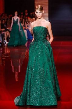 Elie Saab haute couture evening gowns Fall 2013 - I WANT EVERY SINGLE ONE!!!